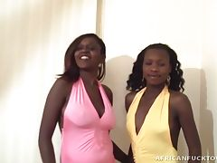 Antonio raises the stakes in this saucy encounter with two black lesbians, Oseye and Ivie. They`re two horny lesbians who love turning on each other with hot pussy-licking and sensual bean-flicking. After giving Antonio a show, he crams his knobby cock in